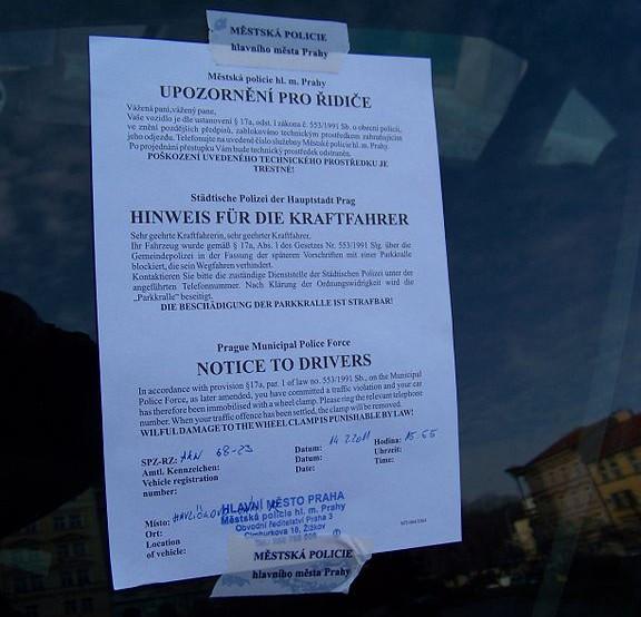 Městská_policie_Praha_upozornění_pro_řidiče