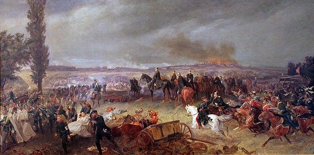 1868_georgBleibtreu_Schlacht_bei_Koeniggraetz