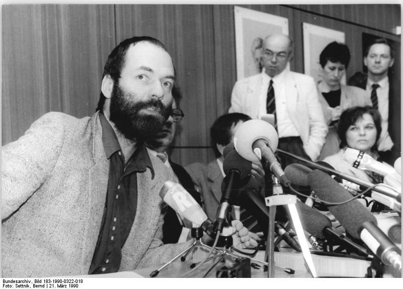 Berlin, SPD-Pressekonferenz, Markus Meckel