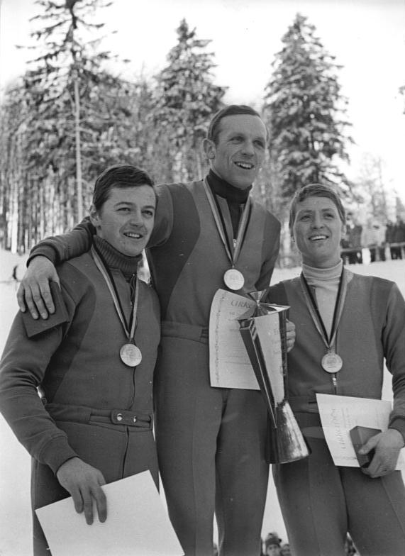 Brotterode, Bernd Willomitzer, Horst Queck, Heinz Schmidt